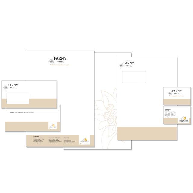 hartmann. studio für marketing. design. public relations I Geschäftsausstattung I FARNY Hotel